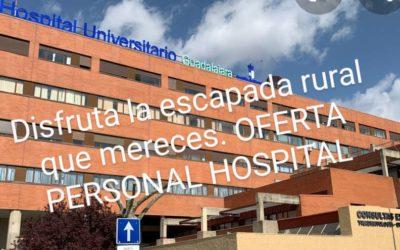 HOSPITAL Univ Guadalajara La escapada que mereces !!!!
